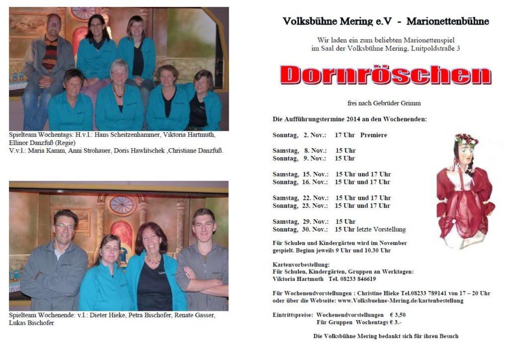 Dornröschen Programm 1